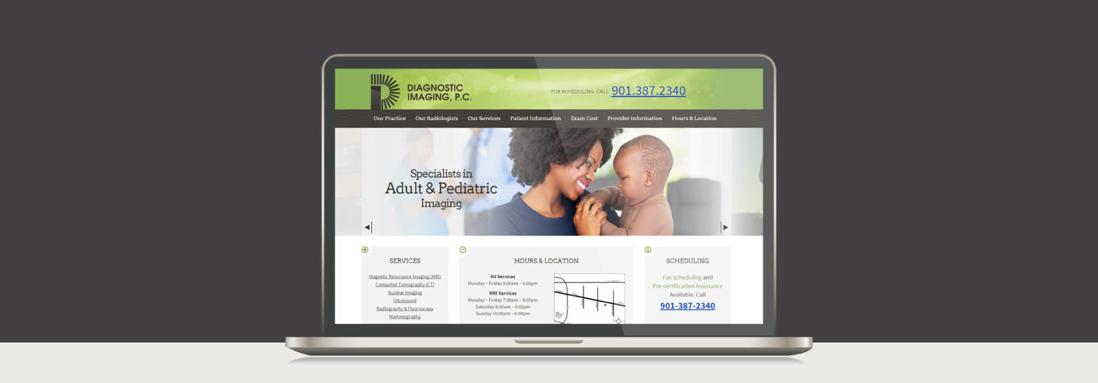 Diagnostic Imaging Website